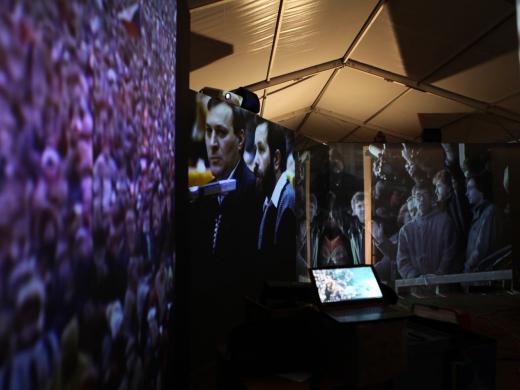 Audiovizuální výstava na Letné pro Paměť národa 17.11. - 30.11.2019