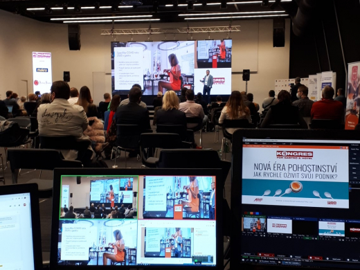 On-line streaming konference For Gastro PVA Letňany 1.10.2020